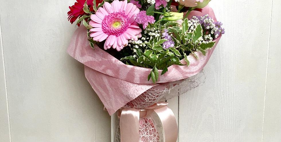 Bouquet di fiori misti - Rosa