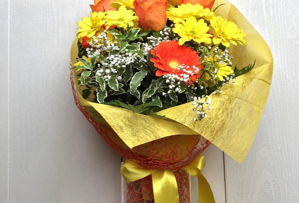 Bouquet di fiori misti - Giallo