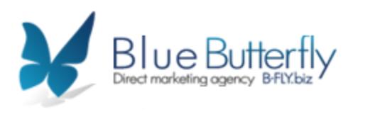 Blue Butterfly agency logo
