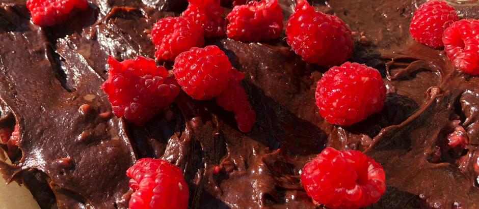 Boozy Berries Chocolate Brownies
