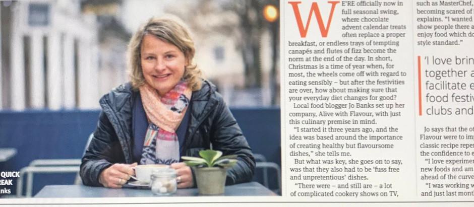 Tunbridge Wells Times article – Wednesday 12th December 2018