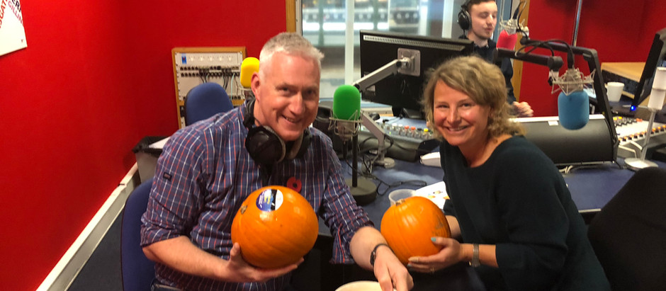 Talking Pumpkins on BBC Radio Kent