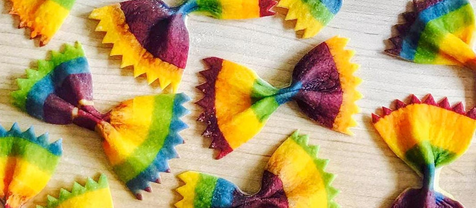 Natural way to colour foods
