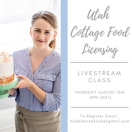 Utah Cottage Food Licensing