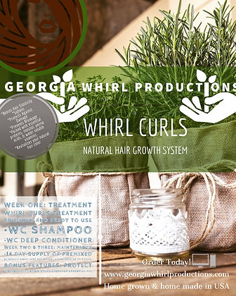 Whirl Curls Hair Growth System (5 Products)