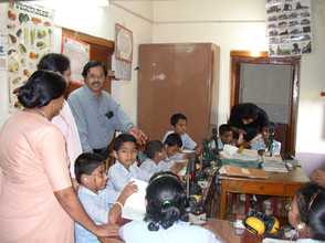 Magical interaction with the children wi