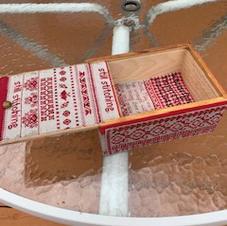 Little Red Stitching Box