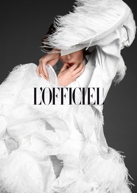 L'OFFICIEL 2019 editorial (Tap to view more)