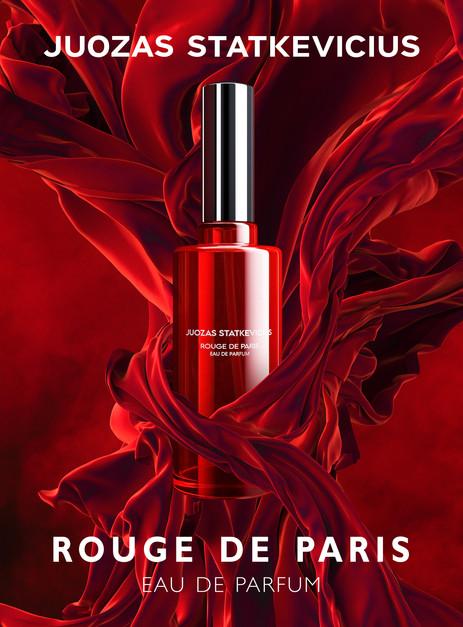 Ad Campaign for JS Rouge de Paris perfume (Tap to view more)