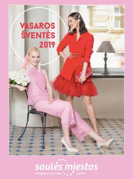 SAULĖS MIESTAS   S/S 2019 catalogue