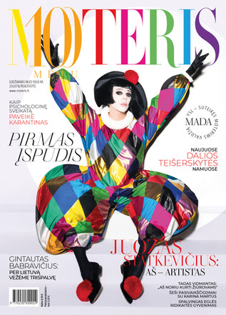 Juozas Statkevicius for MOTERIS 2020 July Cover (Tap to view more)