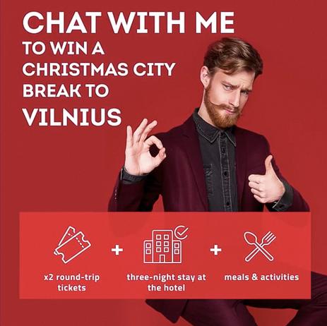 GO VILNIUS 2019 A/W ad campaign (Tap to view more)