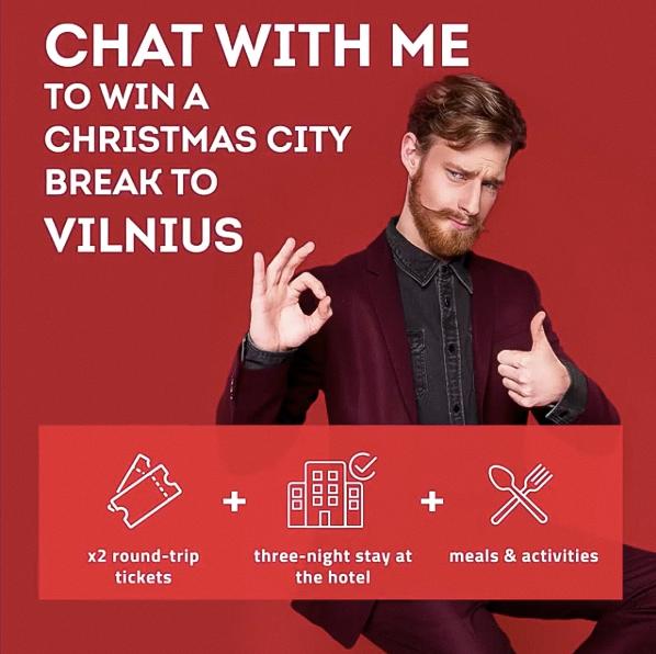 GO VILNIUS   Ad Campaign 2019