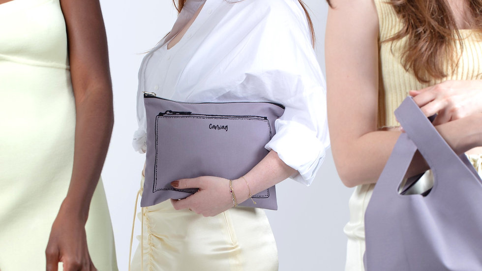 The Pouch in Mauve