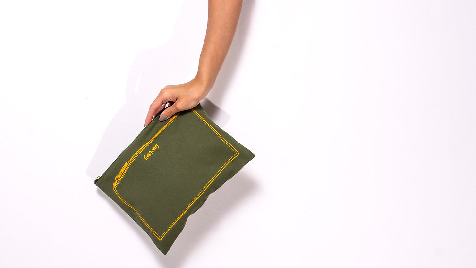 The Pouch in Khaki