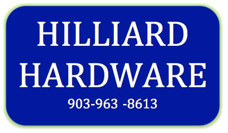 Hilliard Hardware - Van, TX