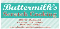Buttermilk's Cafe - Canton, TX