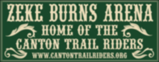 Zeke Burns Arena Banner