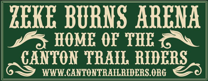 Zeke Burns Arena Banner