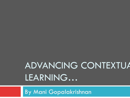 Advancing Contextual Learning