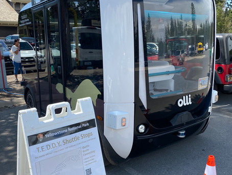 My first autonomous vehicle experience