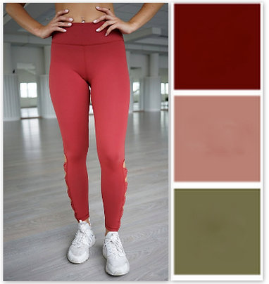 Ribbon leggings