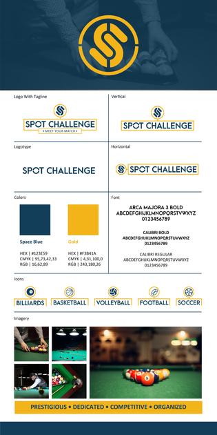 Spot Challenge Brand Board