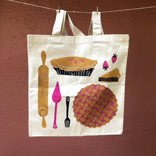 Pie Tote Bag (Fall/Winter Limited Offer)