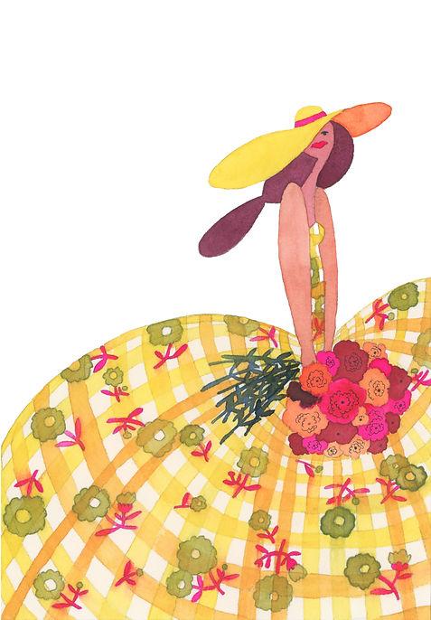 Hat Lady #1