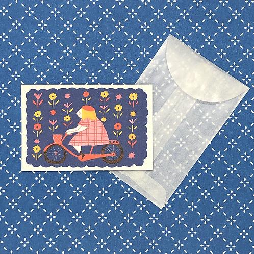 Bicycle Mini Card