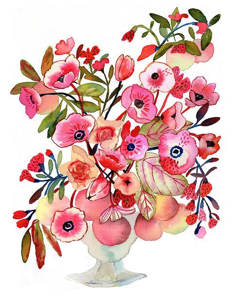 Flowers & Peaches