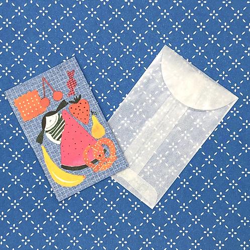 Snack Time Mini Card