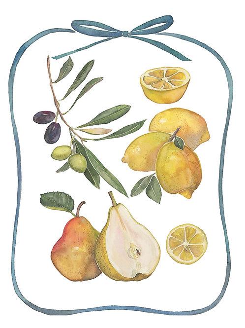 Pears, Lemons & Olives
