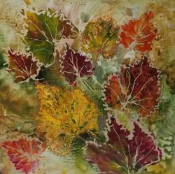 Jeweled Leaves