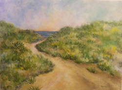 Through Grassy Dunes To The Sea