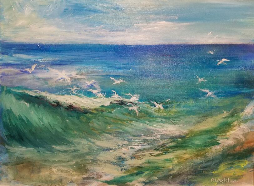 Gulls At Play