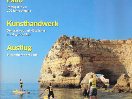 traduçao do texto no magasine ENTDECKENSIE ALGARVE 07/2020.