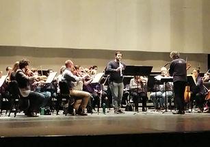 Mozart Clarinet Concerto Rehersal