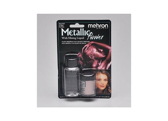 Metallic Powder + Mixing Oro Rosa