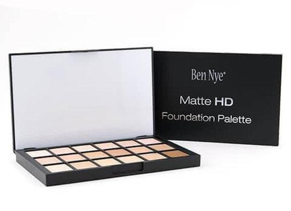 Palette Matte HD Fondotinta18 colori