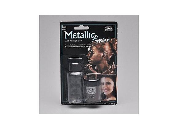 Mettalic Powder + Mixing Liquid Bronzo