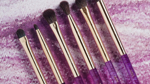 AMETHYST DETAIL EYE BRUSH SET