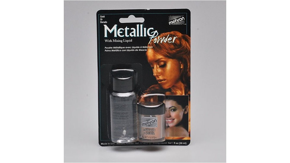 Metallic Powder e Mixing Liquid Oro