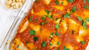 GF/DF Italian Stuffed Lasagna Roll-Ups