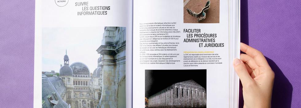 Rapport d'activité de la DAC Lyon [agence Trait d'Union]