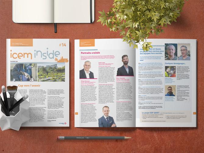 Les magazines d'entreprise font aussi partie du job :-)