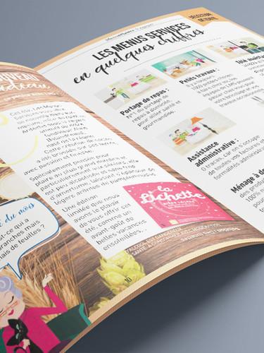 Magazine [Les menus Plaisirs pour Signe des temps]