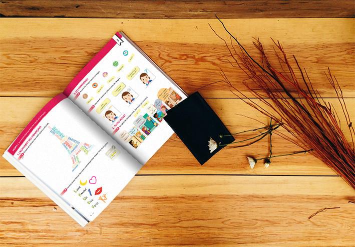 DA et mise en page de manuels scolaires