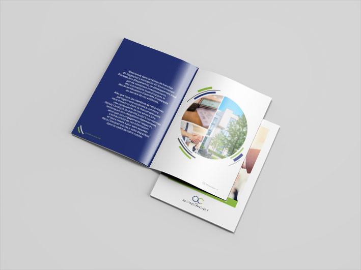 AC Environnement, conception graphique, mise en page, direction artistique