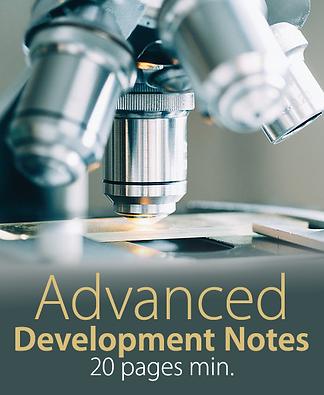 Advanced Script Development Notes | Script Editing
